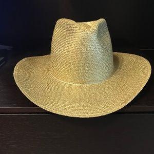 Gold Sparkle Cowboy Hat